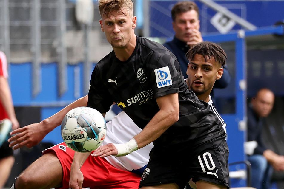 Gegen den SV Sandhausen blamierten sich der HSV mit einer 1:5-Schlappe.