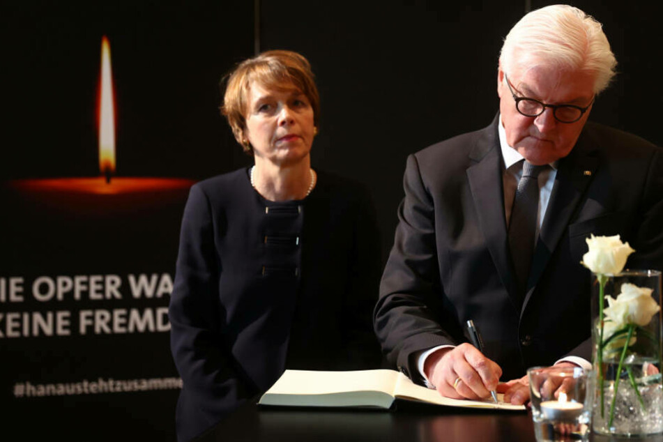 Steinmeier ruft in Hanau zur aktiven Verteidigung der Demokratie auf