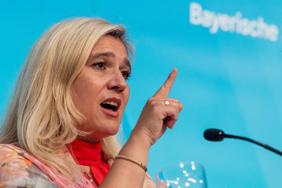 Melanie Huml (CSU), Staatsministerin für Gesundheit und Pflege.