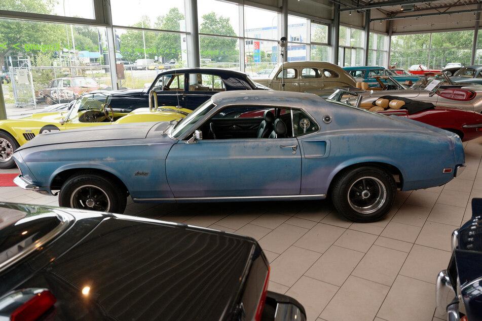 Das Auto sei fahrbereit, die Jahre haben dem Fahrzeug aber zugesetzt.