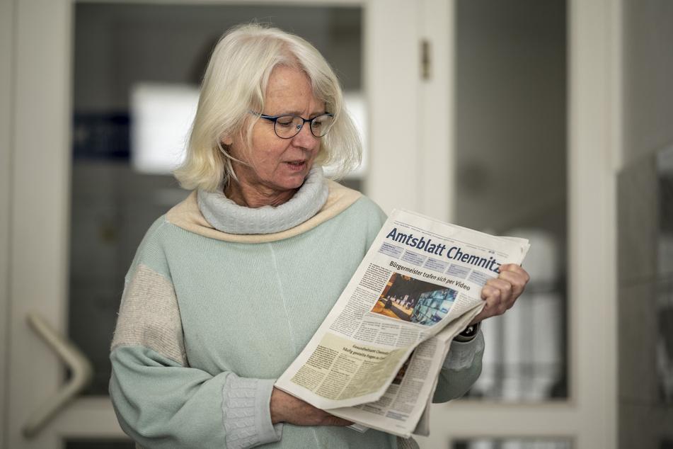 Katharina Weyandt (60, Grüne) ist für eine Abschaffung des gedruckten Amtsblattes.
