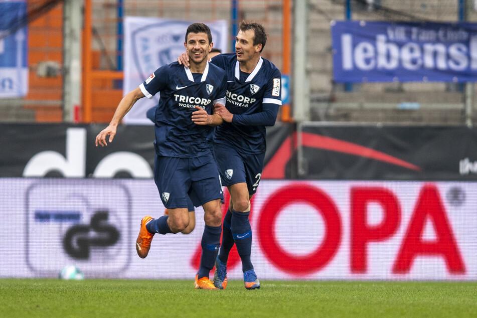 Die Bochumer Anthony Losilla (l.) und Robert Tesche kommen Anfang Februar zum RB Leipzig.