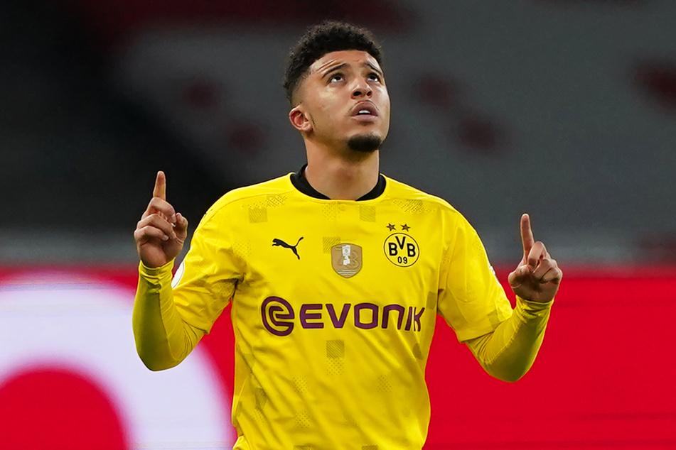 Jadon Sancho (20) schnürte für den BVB einen Doppelpack und war gemeinsam mit Erling Haaland (20) der spielentscheidende Mann.