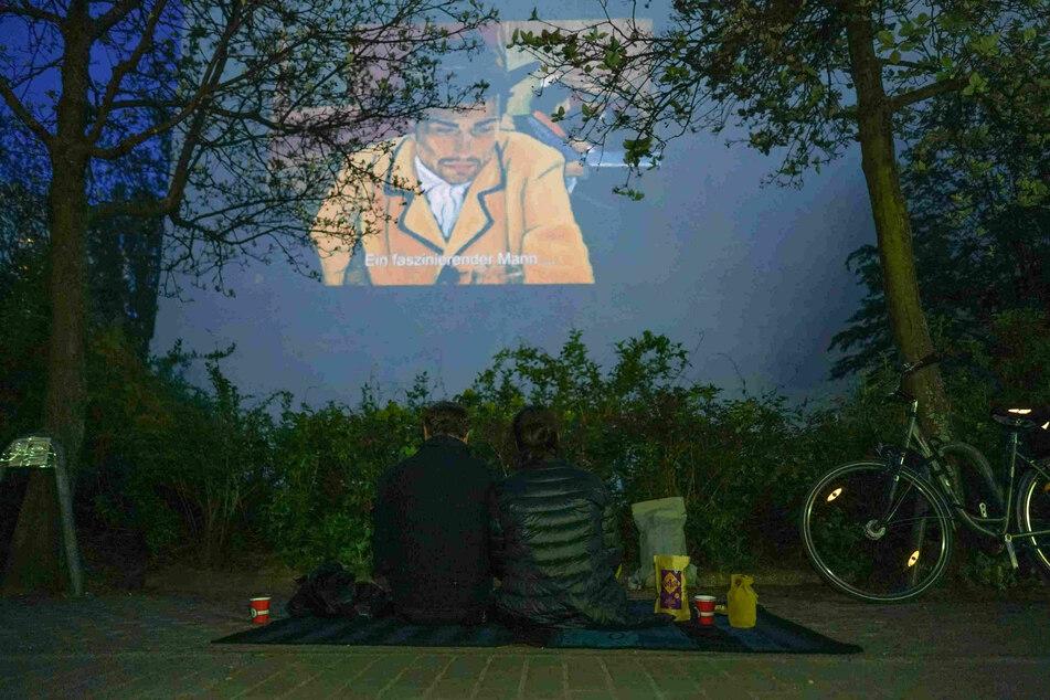 """""""Loving Vincent"""" wird im Freien gezeigt."""