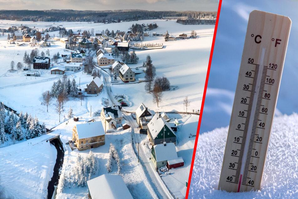 Minus 32 Grad: Schon wieder Mega-Frostschock in Sachsen