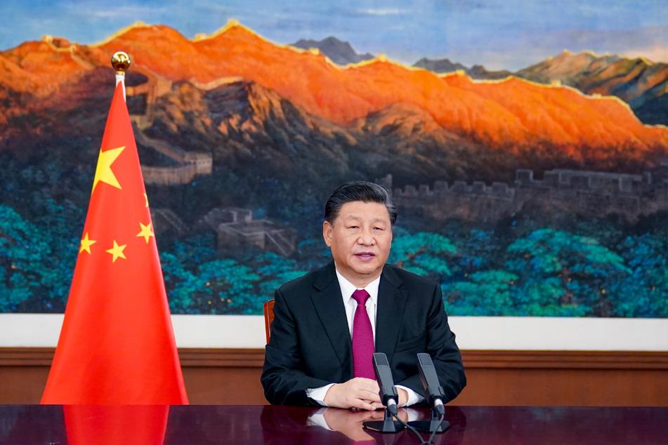 Warnt vor einer Konfrontation: Xi Jinping (67), hier bei einer virtuellen Veranstaltung des Weltwirtschaftsforums (WEF).