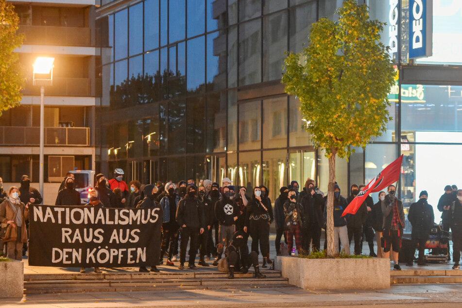 Rund 150 Menschen kamen zur Gegendemonstration.