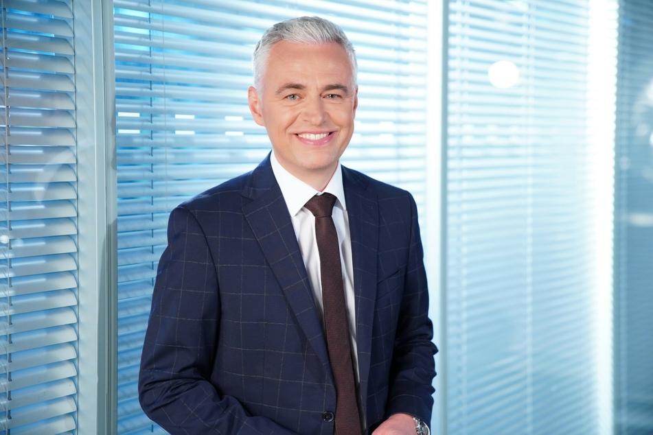 Auch für Journalist und Moderator Andreas von Thien (54) war die Situation mehr als ungewohnt.