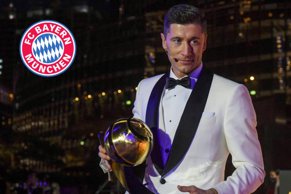 Ehrung im Risikogebiet: Bayern-Star Lewandowski erhält weitere Trophäe!