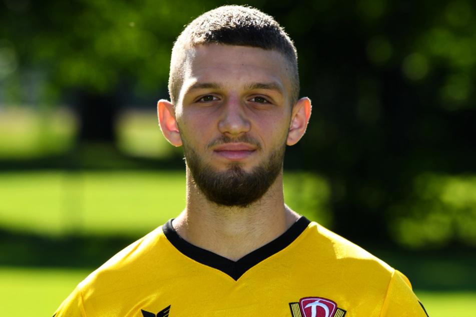 Ex-Dynamo-Dresden-Talent Fatlum Elezi (21) spielt mittlerweile bei TeBe und überzeugte dort in der Aufstiegssaison mit Technik, enger Ballführung und Spielübersicht.
