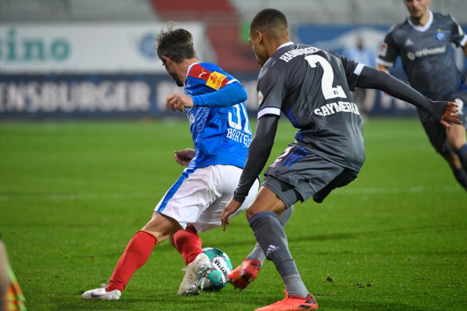 Gaymerah statt Gyamerah stand auf dem Trikot des HSV-Spielers.