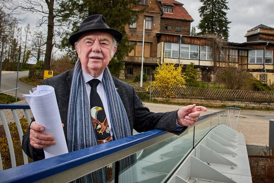 Abriss! Historisches Bergcafé in Bad Schandau weicht Altenheim