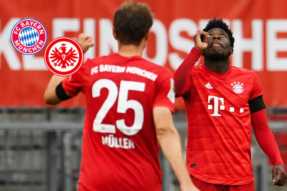 FC Bayern und Eintracht Frankfurt mit tollem Offensiv-Spektakel und sieben Toren!