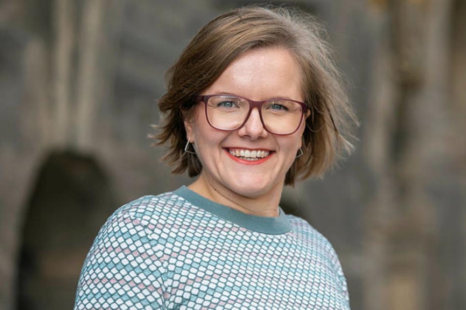 Grünen-Stadträtin Agnes Scharnetzky (33) hat den Antrag der fünf Fraktionen eingebracht.