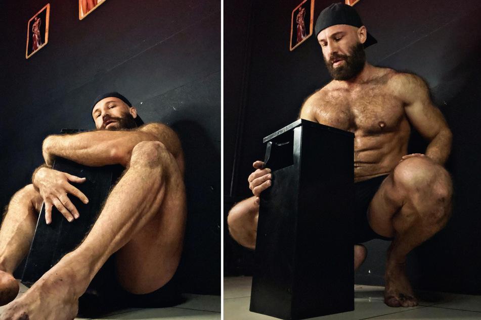 Yuri Tolochko (36) hat seine neue Leidenschaft in einem Aschenbecher gefunden.