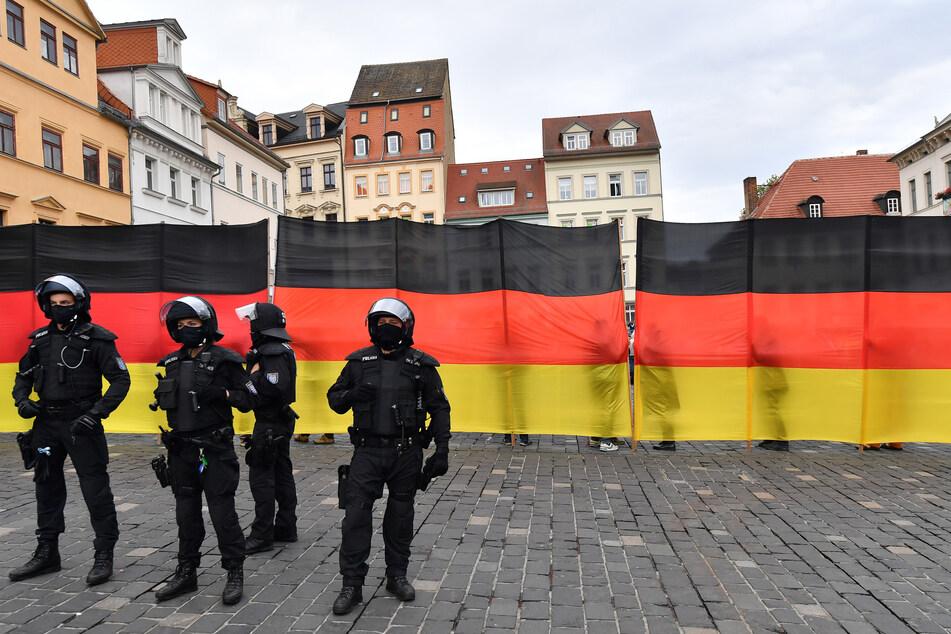 Nach Demonstrationen in Altenburg: Polizei prüft mögliche Straftaten