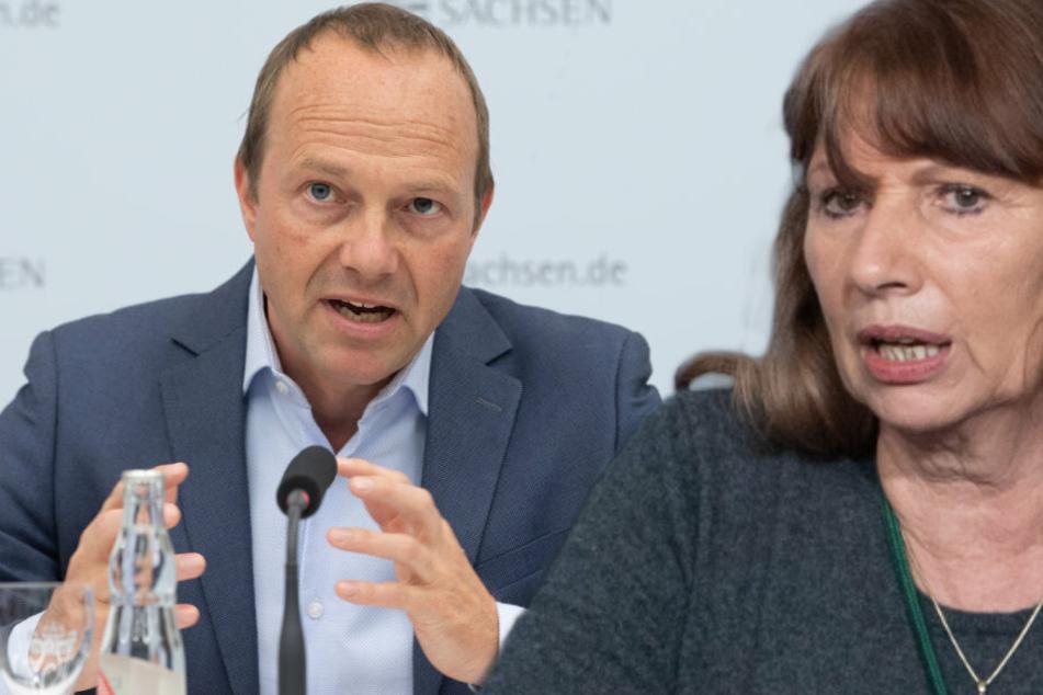 Impf-Situation in Sachsen: Ministerin Köpping und Vize Günther sprechen von Perspektivplan!