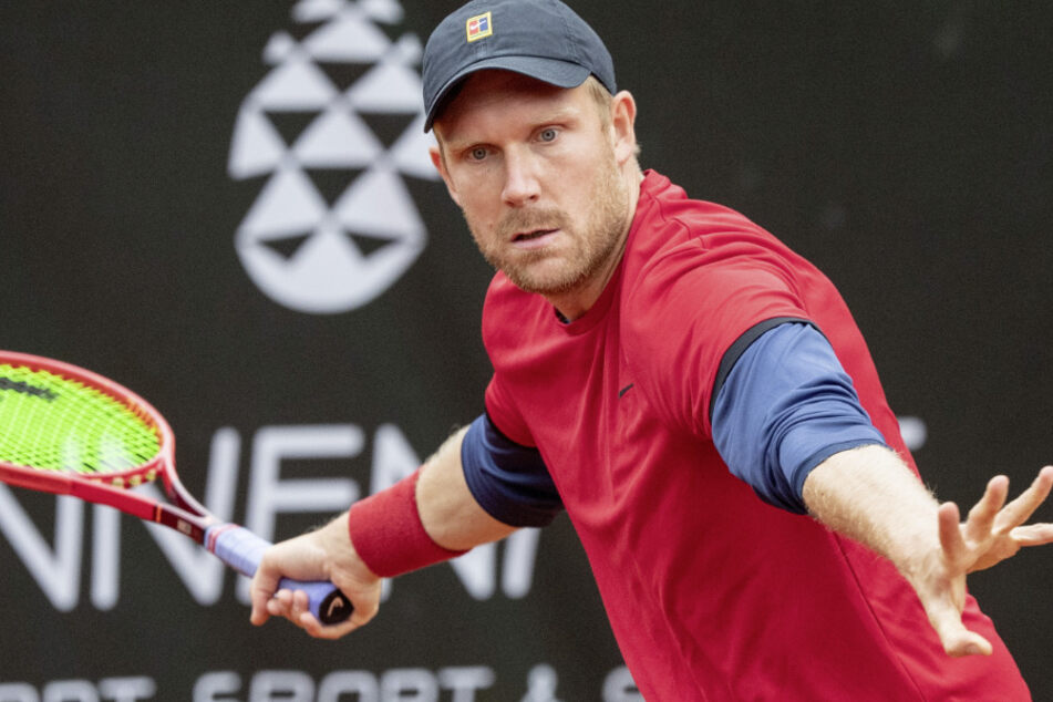 Tennisprofi Matthias Bachinger (33). (Archivbild)