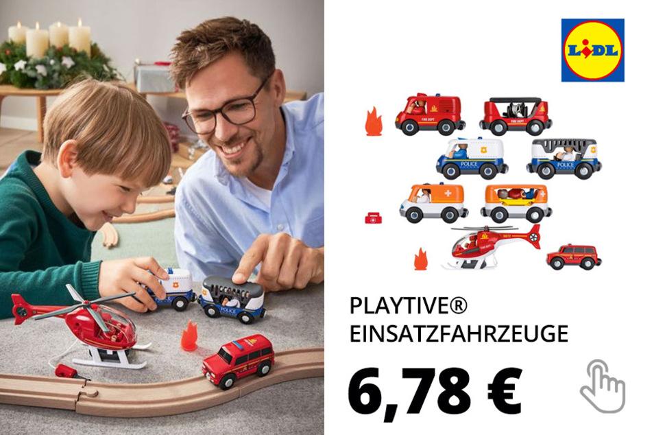 PLAYTIVE® Einsatzfahrzeuge