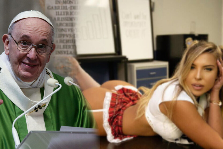 Pope Francis likes photo of adult model on Instagram