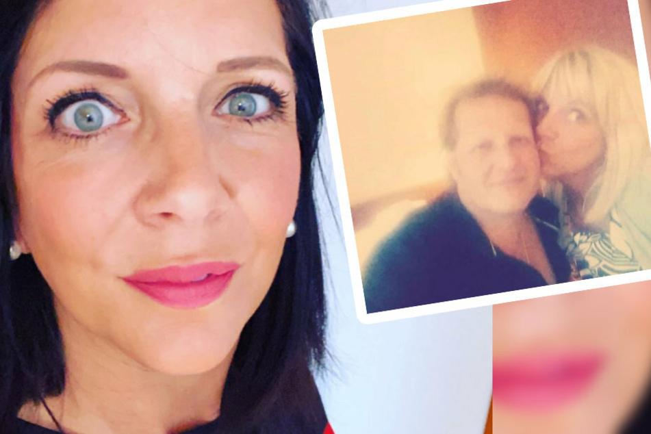 Ausnahmsweise postete Danni mal keine Bilder von sich (links), sondern ein emotionales Update mit Jens (rechts).