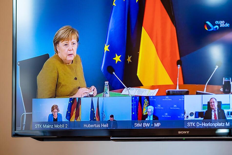 Per Video berieten sich Angela Merkel (66, CDU) und die Ministerpräsidenten der Bundesländer über die Corona-Regeln an Weihnachten.