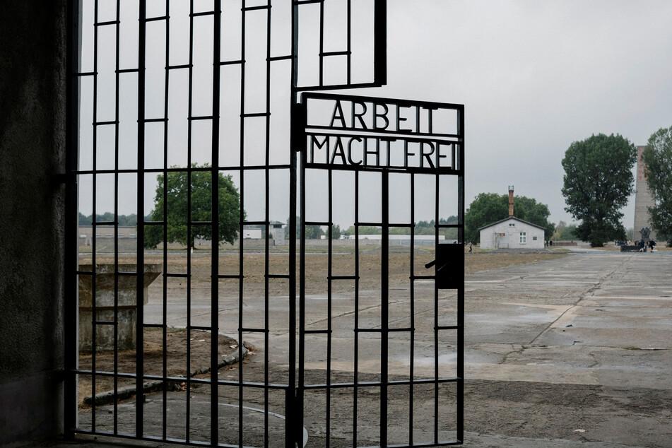 Mehr als 200.000 Menschen waren nach Angaben der Gedenkstätte im Konzentrationslager Sachsenhausen inhaftiert.