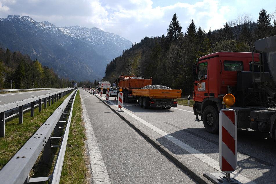 Unfall A95 News: Alles über Staus und Sperrungen (Foto: Angelika Warmuth/dpa).