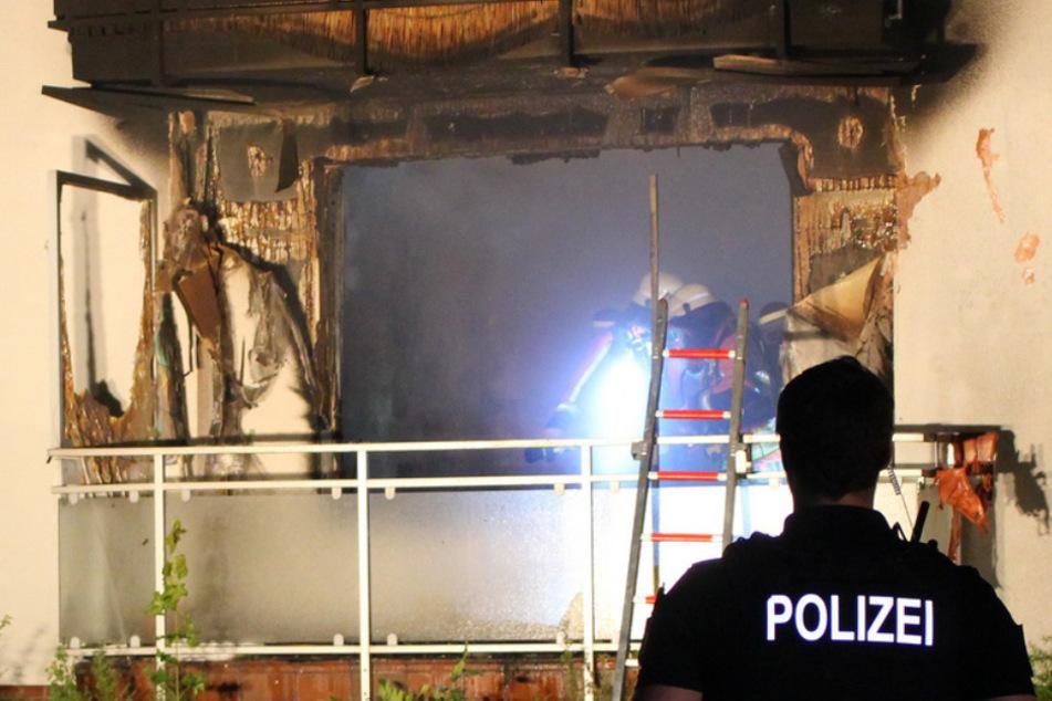 Feuerwehr findet Leiche in ausgebrannter Wohnung