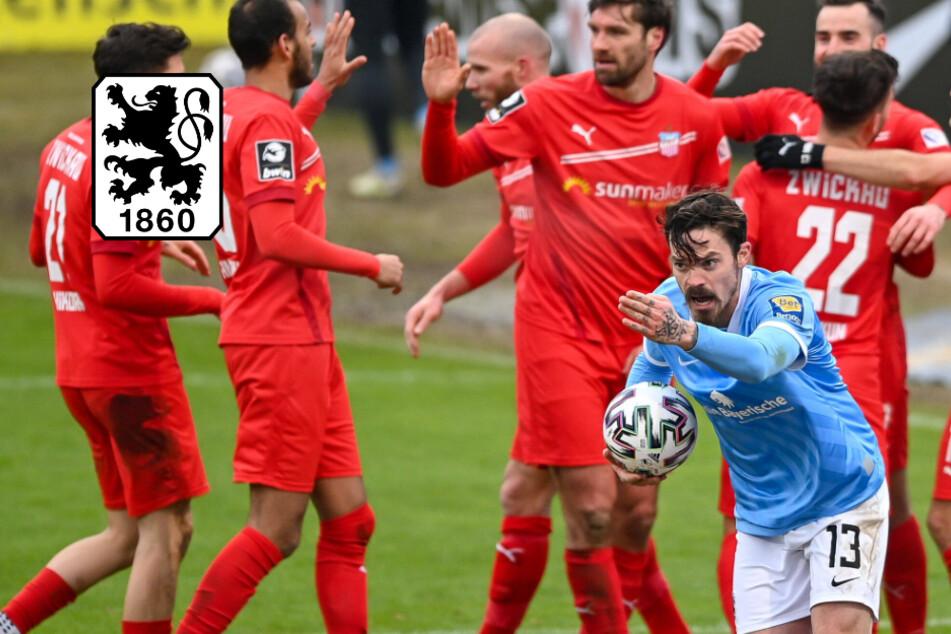 Ist das bitter! TSV 1860 kassiert gegen FSV Zwickau unnötige Pleite