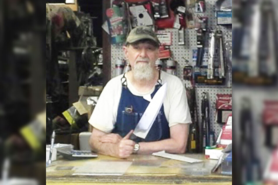 Dave Feinberg has been running a knife sharpening business in Clifton for 25 years.