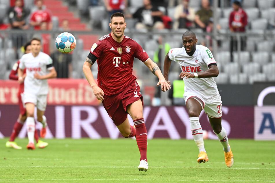 Niklas Süle hatte im ersten Durchgang die beste Chance für den FC Bayern München. Ein Tor konnte der Abwehrspieler aber nicht erzielen.