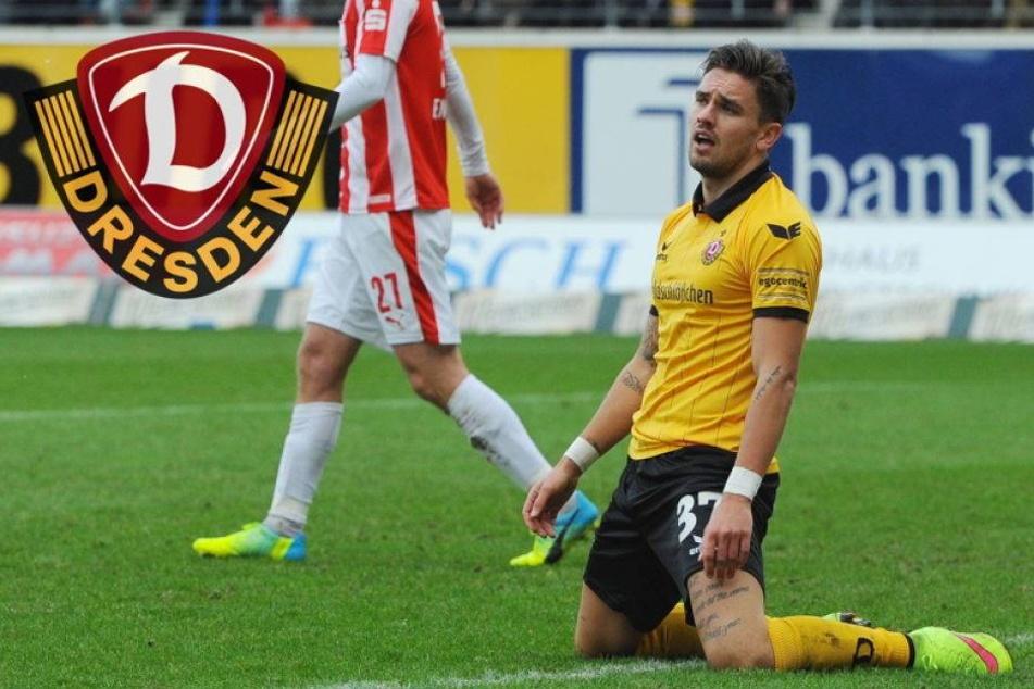 Schock für Dynamo! Testroet fällt gegen Bremen aus
