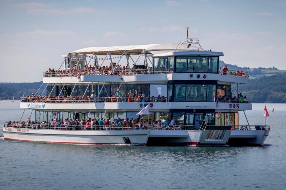 Wie sieht die denn aus? Die MS Brombachsee ist ein beliebtes Ausflugsschiff und einmalig in Europa.