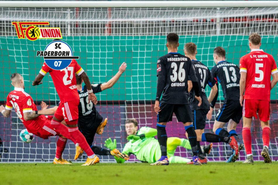Pokal-Überraschung! Union Berlin fliegt bei Karius-Debüt gegen Paderborn raus