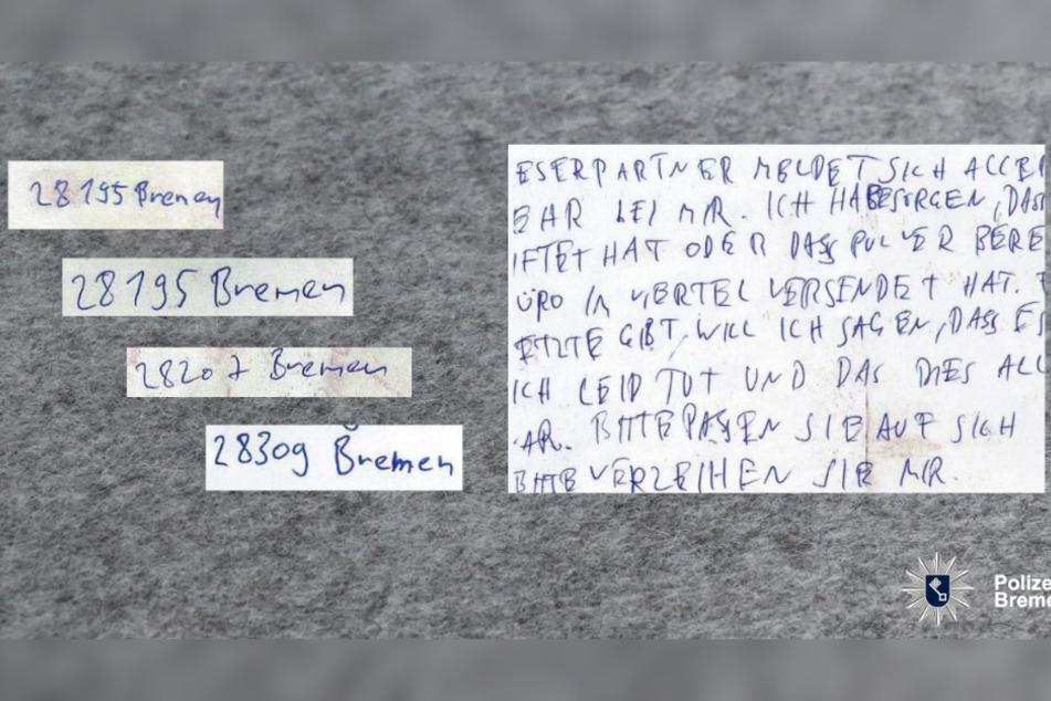 Wer erkennt die Handschrift des Serientäters?