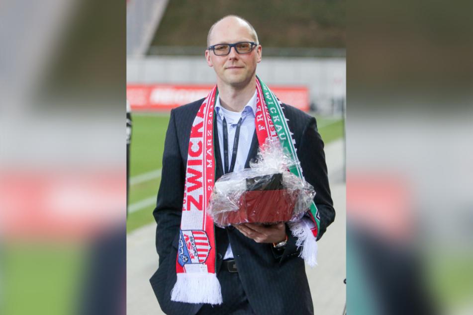 Geschenke vom DFB gab's für Drittligist FSV Zwickau um Vorstandssprecher Tobias Leege auch in diesem Jahr nicht, vielmehr erneut knallharte Auflagen zur Liquiditäts-Sicherung.
