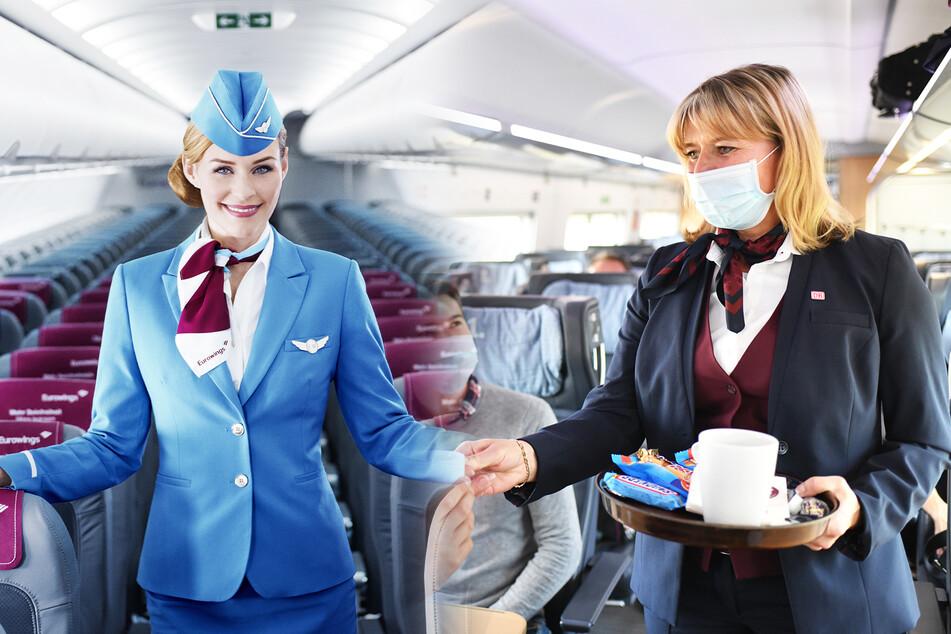 Airline will aus Flugbegleitern Bahn-Angestellte machen