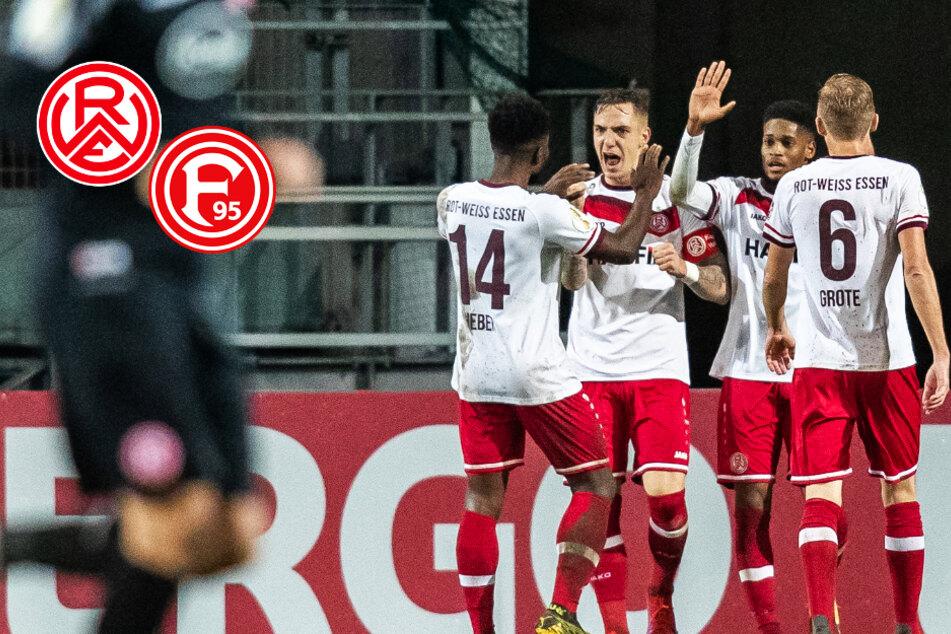 Rot-Weiss Essen sorgt für Pokal-Sensation: RWE haut Fortuna Düsseldorf raus!
