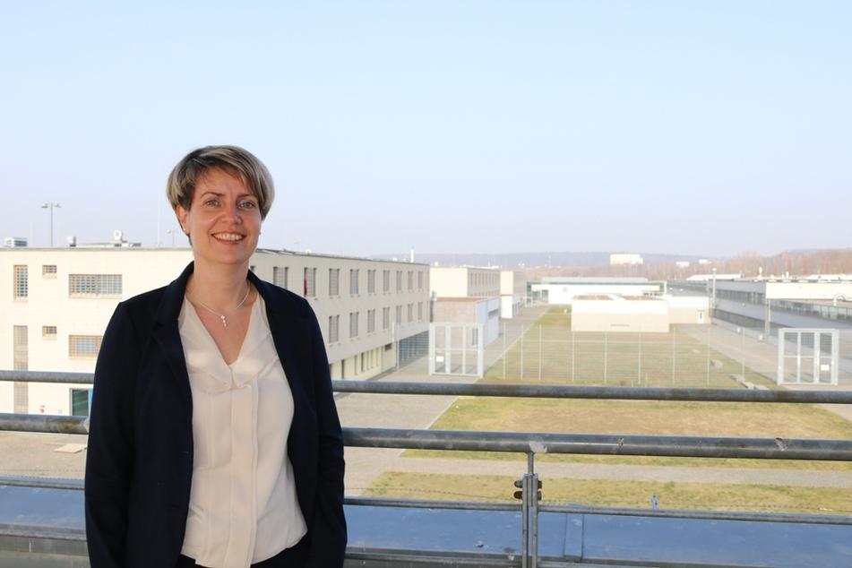 Rebecca Stange (40) ist die neue Leiterin der Justizvollzugsanstalt (JVA) Dresden.