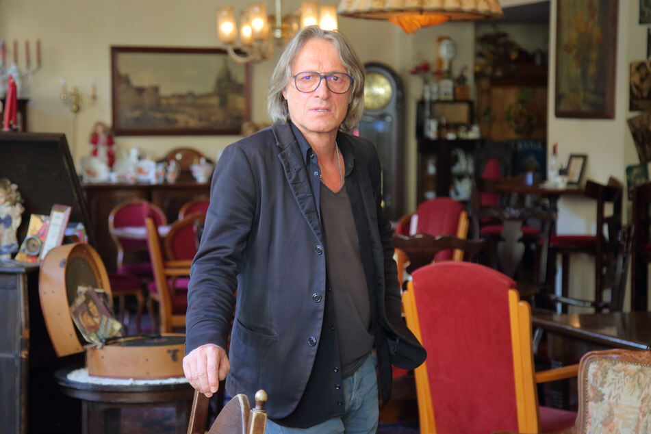 Andreas Hesse (59), Geschäftsführer der Trödelschänke, will unbedingt seine Unschuld beweisen.