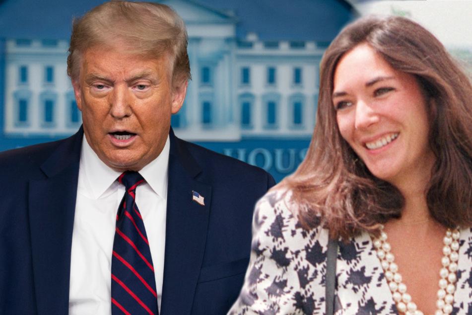 """Missbrauchsskandal: Trump wünscht Epstein-Vertrauter Maxwell """"Alles Gute"""""""