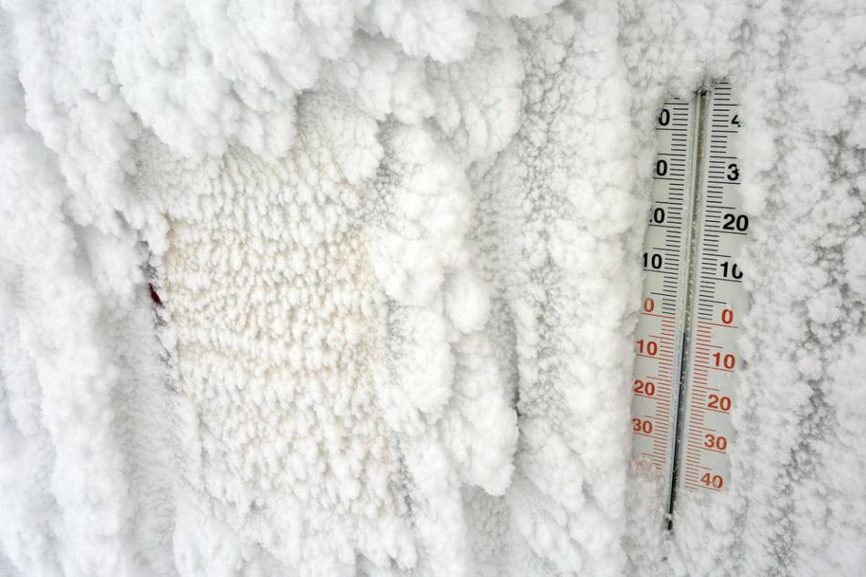 Eisige Temperaturen haben ganz Hessen gerade voll imGriff (Symbolbild).