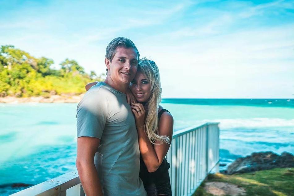 Ziehen wohl dieses Jahr ins Sommerhaus ein: Annemarie Eilfeld (30) und ihr Freund Tim Sandt