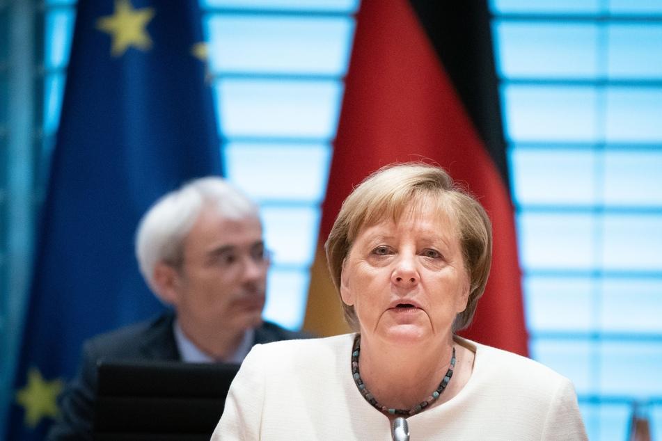 Angela Merkel (66) äußerte sich besorgt wegen der steigenden Zahlen von Corona-Infektionen in Deutschland.