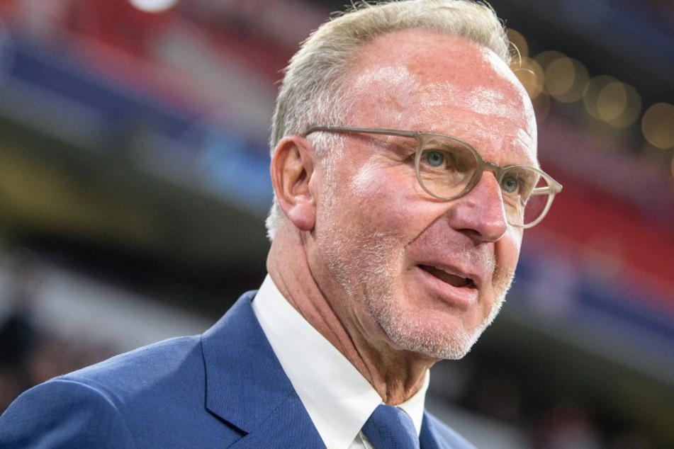 Karl-Heinz Rummenigge (64) hält auch weiterhin nicht sonderlich viel von der Einführung einer Superliga im Fußball.