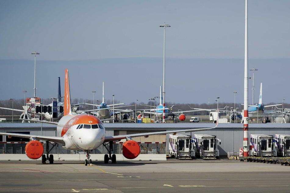 Der Flughafen Schiphol.