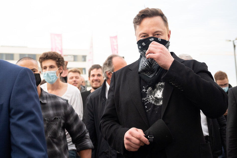 Elon Musk ist derzeit zu Besuch in Deutschland.