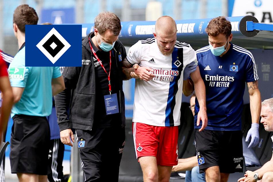 Ist das bitter! HSV-Abwehrkante Rick van Drongelen verletzt sich bei Comeback erneut