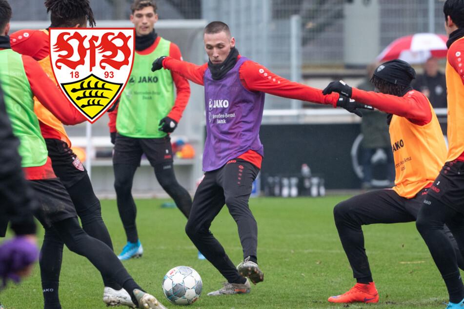 Trotz Coronakrise: VfB Stuttgart trainiert wieder!